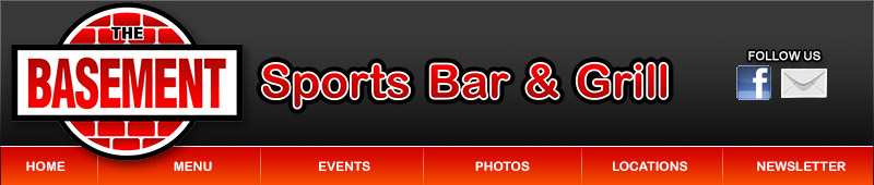 basement sports bar. Call or stop in for lunch today and book a party  The Basement Sports Bar Grill